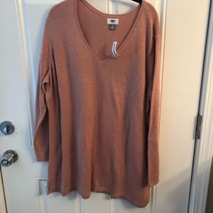 Old Navy Pink Glittery Sweater 3X
